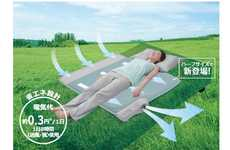 Soothing Slumber Devices - Fall Asleep Easily on Hot Summer Days with the Bed Mat Soyo