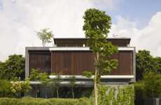 Grassy Green Abodes - The ONG&ONG 72 Sentosa Cove House is Eco-Friendly