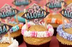 Luau-Ready Treats - Bakerella 'Aloha Cupcakes' are Perfect for a Sweet Summer Day