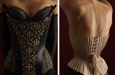 Evolutionary Corsets - The Hubert Barrere Corset Collection Tells the Story of the Undergarment