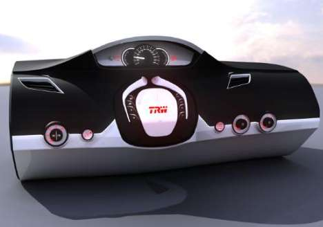 TRW Folding Steering Wheel
