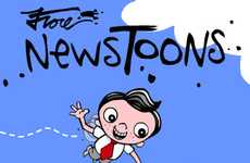 Lampoonist Cartoon Apps - Pulitzer Winner Mark Fiore's 'NewsToons' Reflects Ongoing Political Events