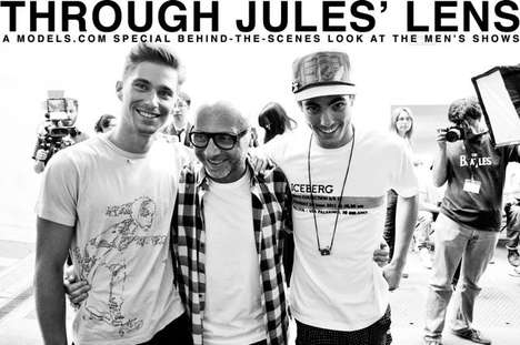 Backstage Model Life Pics - 'Through Jules' Lens' Captures the Elusive Mood of Male Fashion Shows