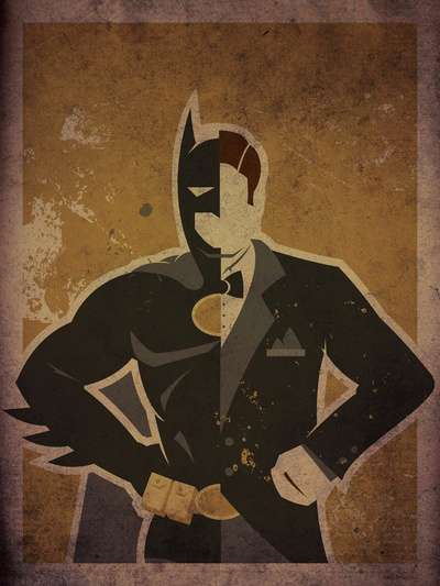 Danny Haas Superhero Prints