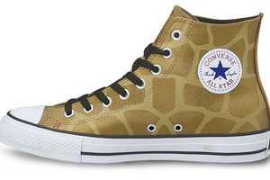 The All Star Ani-Metallic Hi Shoe Boasts Glamorous Street Style