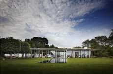 Grassy Greenhouse Architecture - The Thomas Phifer and Partners Fishers Island House is Chic