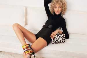 The Anja Rubik Giuseppe Zanotti F/W 2011 Campaign Shows off Retro Style