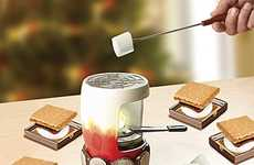 Marshmallow Roasting Tools - The S'mores Set Skips the Fire and Offers Indoor Enjoyment