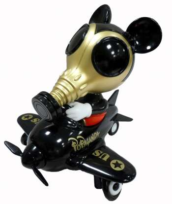 Mousemask Murphy in Airplane Figure