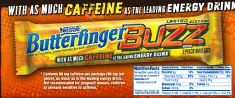 Wake-Up-Worthy Noms - The Butterfinger Buzz Bar is Infused with Chocolate Flavor & a Hit of Caffeine