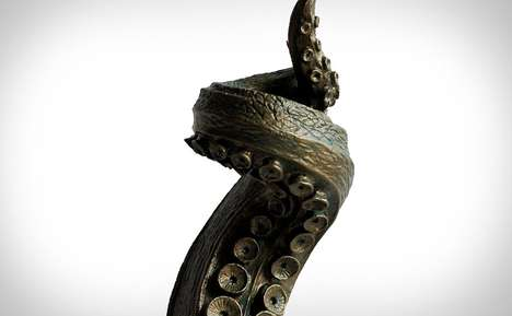 Sea Creature Candelabras - The Tentacle Candlestick Holder is Perfect for Nautical-Themed Homes
