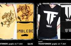 Roll Out with the Transformers x Uniqlo T-Shirt Collection