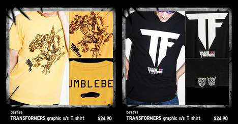 Transformers x Uniqlo T-Shirt Collection