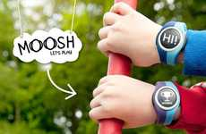 Outdoor Play Timepieces - The Moosh Watch Encourages Child Activity Through Social Media