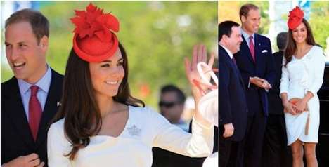 Kate Middleton Dazzles in a Red Lock and Co. Hatters Piece on Canada Day