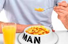 Dog Dishes for Dudes - The Man Bowl Lets Manners Go Out the Doggie Door