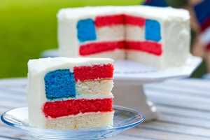 The 'A Little Taste of Independence' Cake Shows Patriotic Pride