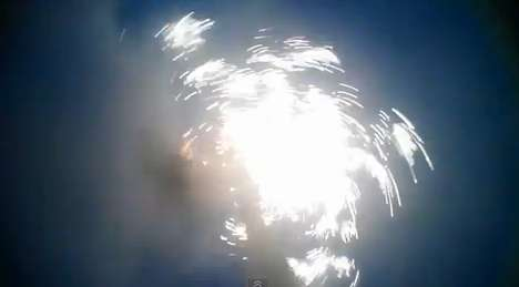 Firework POV Video