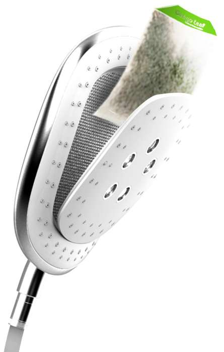 medicinal herbal shower head