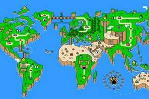 The 'Super Mario Earth' Image Transforms the Globe