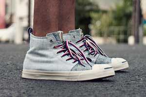 The Aloha Rag 20th Converse Shoe is Zipped With Style