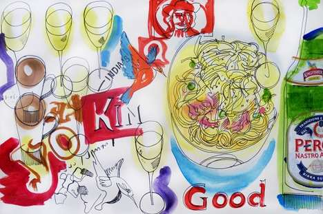 David Meldrum Food Illustator Project
