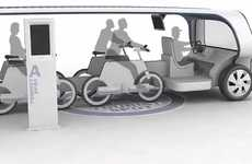 Detachable Bike Tour Vehicles - Kukil Han Designs a Convenient Two-In-One Tour Bus