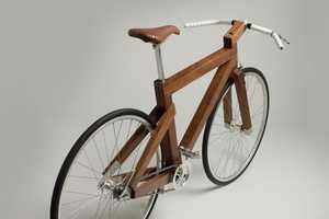 Lagomorph Black Walnut Bike Embraces the Nature of Cycling