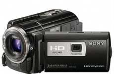 Versatile Video Devices - The Sony Handycam Boasts High-Performance Features Including a Projector