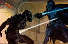 Star Wars Storyboards - Ralph McQuarrie Releases Illustrations from the Original Star Wars Film