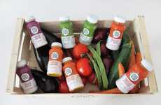 Bottled Greenhouse Treats - Pocket Garden Blendie Provides Healthy Eating in a Portable Manner