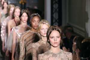 Valentino Autumn/Winter 2011 Collection Pleases at Paris Haute Couture