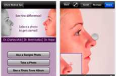 Plastic Surgery Apps - Boost Your Beauty Shows How You'd Look with a Nose Job