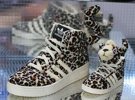 Jeremy Scott Leopard Sneakers