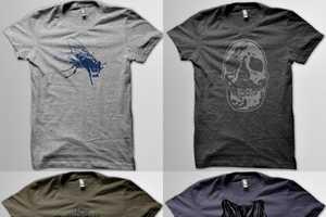 50/50 Company Prints Amazing Shirts with Dark Themes