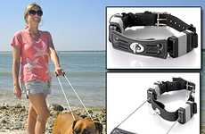 Always-On Dog Leashes - The Super Collar Avoids the Hassle of Tethering Your Pet