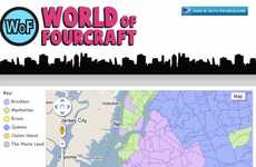 City Check-In Battles - Foursquare and Google Maps APIs Turn NYC Into a Real-Life Game of Risk