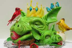 The Furious Fowl Cake Depicts Angry Birds in Immaculate Detail