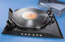 Vinyl MP3 Converters - iPod Turntable Transfers Classics from LPs to your Device