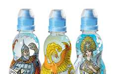 Fascinating Fairytale Packaging - Seryab Mineral Water for Kids Sparks Inpsiration & Imagination