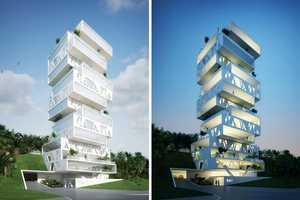Orange Architects' 'The Cube' is a One-of-a-Kind Apartment Complex