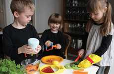 Kid-Friendly Cooking Tools - 'Kitchen Kids' Releases Safe Supplies to Prepare Snacks