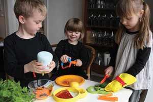 'Kitchen Kids' Releases Safe Supplies to Prepare Snacks