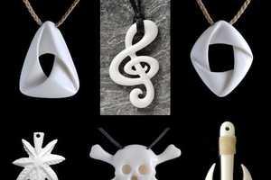 Bone Art Place Creates Intricate Osseous Jewelry Designs