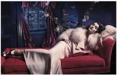 Spanish Seductress Photography - Crystal Renn Vogue Spain Editorial Channels Audrey Hepburn Beauty