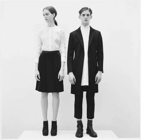 Amish-Inspired Fashion - The 1205 AW11 Collection is Filled With Sparse, Unisex Looks