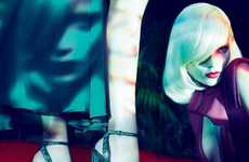Hallucinatory Haute Lookbooks - The Gucci FW11/12 Campaign Exudes Silken Psychedelic Style