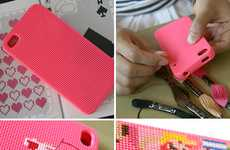DIY Crafty Cases - The Neostitch iPhone 4 Case Taps Your Inner Grandma Skills