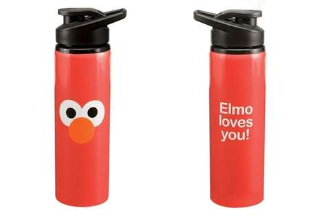 Elmo Stainless Steel Watter Bottle