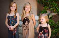 The 'Brava Boutique' Re-Purposes T-Shirts into Adorable Kiddie Clothing